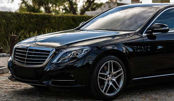 Merces-Benz Class S, luxury vehicle to rent with driver